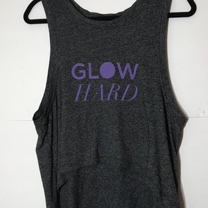 Sparkle & Glow XS Yoga tank Glow Hard Beyond Yoga